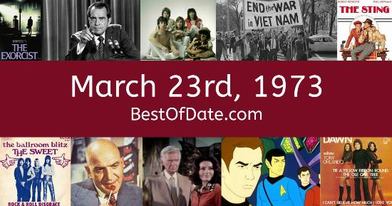 March 23rd, 1973