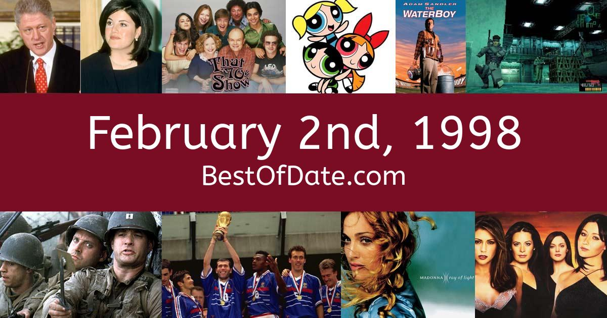 February 2nd, 1998 - Facts, Nostalgia and Events!