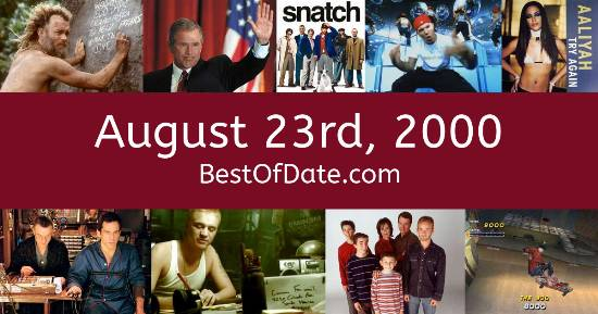 August 23rd, 2000
